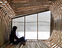 Bamboo micro housing by Affect-T