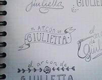"""Logo """"el arcón de Giulietta"""""""