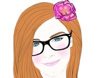 Portrait de Laura