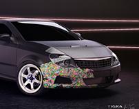 Opel Tigra Twintop - Styling project