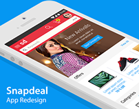 Snapdeal Moble App Redesign