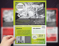 Clean Multi-Purpose Corporate Flyers
