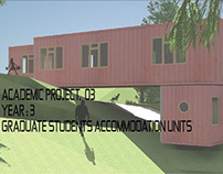 PROJECT 03 : GRADUATE STUDENTS ACCOMMODATION UNITS