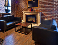 Design of Showroom for fireplaces company