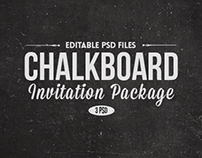Chalk Board Invitations