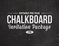 Chalk Board Invitations