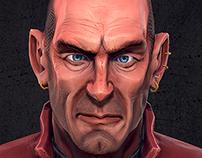 Lieutenant bust