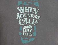 Dry Falls Tee Design