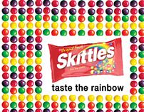 Hard Sell Ads for Skittles