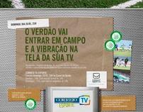 LANÇAMENTO CORREIO ESPORTE TV / 2009