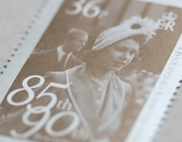Queen's 85th Birthday Stamps