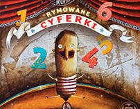 Rymowane cyferki - children's book