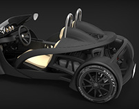 3DPCX - 3D Printed Car eXperiment