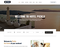 Picklu - Hotel and Resort Bootstrap 4 Template