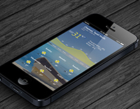 IOS Weather app UX Design