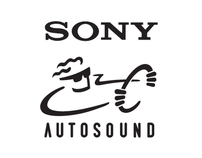 Sony Autosound logo design