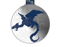 Oficjalny medal 13. Cracovia Maraton