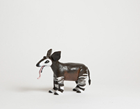 Toothless, The Okapi Toy