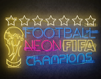 FOOTBALL NEON / WORLD CHAMPIONS