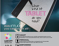 Magazine Advertisement: Intuos Tablet