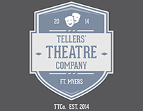 Thellers' Theatre Company Logo Concept