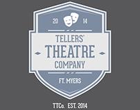 Thellers' Theatre Company Logo Concept