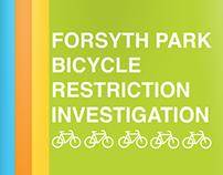 Forsyth Park Bicycle Restriction Investigation
