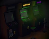 Moody Arcade Hall
