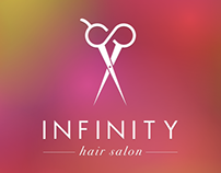 Infinity Hair Salon Logo