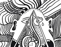 Illustration Human machine