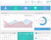 ERP Home page design