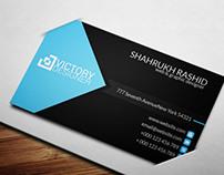 Stylish & Modern Design Business Card Template