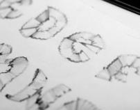 Tipografía deshecho / Leftover typography