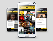 IMDb Android App Concept