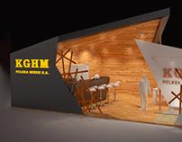 """Concept Art - Exhibition Stand """"KGHM"""""""