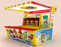 Lipton Ice Tea Kiosk 3x3m