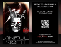 Sinful Night @ Voltaic Night Club