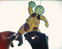 Jumping Jack Yuri Gagarin assembling tutorial