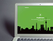 Ampelmann | Responsive, one-page website
