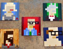 8 Bit Portraits