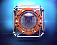 ACTION CAMERA iOS Icon