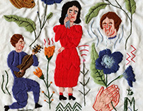 Love Stories in Handkerchiefs