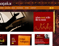Webpage design For classical Singer
