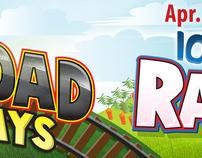 Railroads & Rabbits Outdoor