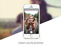 iOS 7 Camera App Redesign