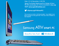 Samsung ATIV FB App