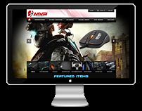 MVP Online Store Website