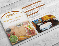 Corporate Catering Menu Design