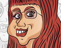 Caricatura - Caricature - Ilustración - Digital