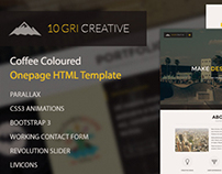 10GriCreative - One Page HTML5 Template